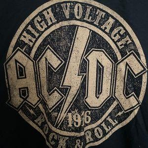 AC/DC Shirts - NWOT MEN'S AC/DC HIGH VOLTAGE ROCK & ROLL T-SHIRT